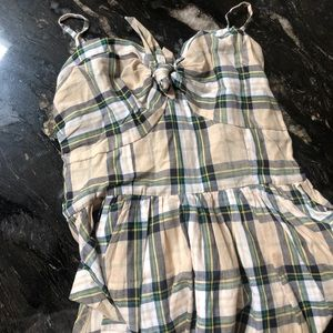 NWT Girls Size 12 Plaid Dress